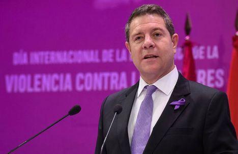 Page preside este miércoles el acto institucional de Castilla-La Mancha por el Día Internacional contra la Violencia a las Mujeres