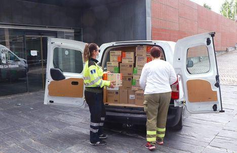 Repartidos más de 35 millones de artículos de protección sanitaria en Castilla-La Mancha desde el inicio de la pandemia