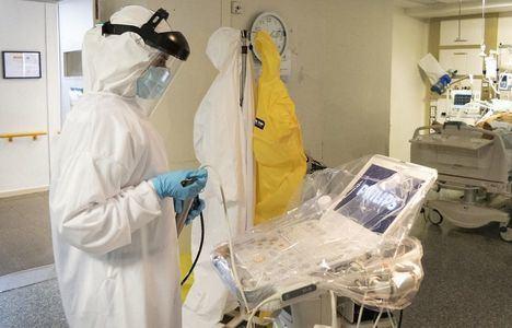 Coronavirus.- Los ingresados UCI y fallecidos en Castilla-La Mancha se mantienen y prosigue el descenso de nuevos casos, sin datos de Toledo