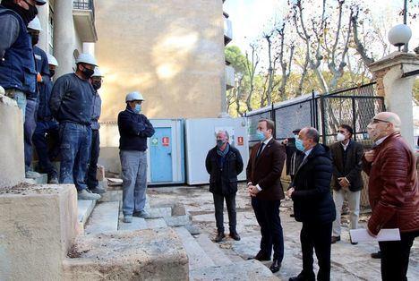 Las obras de rehabilitación de la antigua Comisaría de Simón Abril de Albacete podrían estar terminadas en 15 meses
