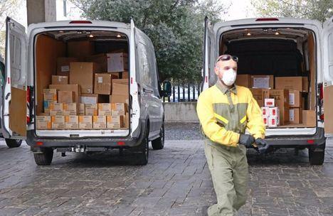 Coronavirus.- Distribuidos en Castilla-La Mancha cerca de 450.000 artículos de protección para profesionales sanitarios esta semana
