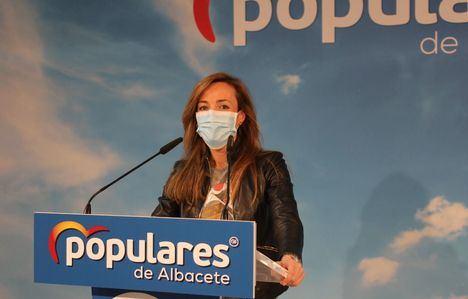 """Carmen Navarro advierte que el PP seguirá peleando """"por el stop a la Ley Celaá"""" y anima a los ciudadanos a participar de la resistencia cívica, legal y constitucional"""