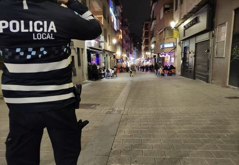 La Policía Local de Albacete tramita 55 denuncias a irresponsables en la noche del sábado