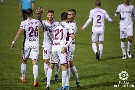 0-2: El Albacete gana al Mirandés11 jornadas después