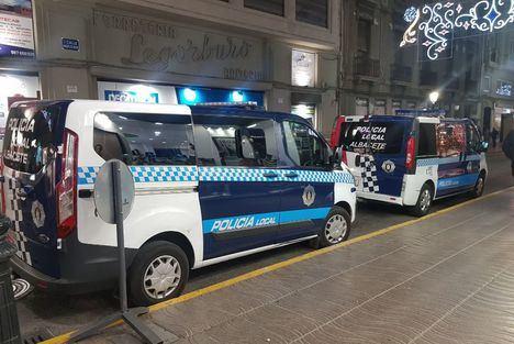 Dispositivo especial de las Fuerzas y Cuerpos de Seguridad para Nochevieja y Reyes en Albacete