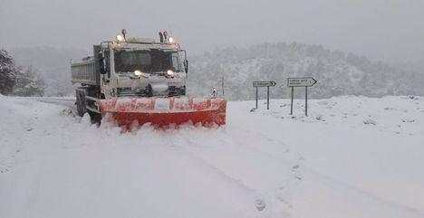 Temporal.- Casi 100 militares de la UME llegarán este miércoles a Albacete por la previsión de fuertes nevadas