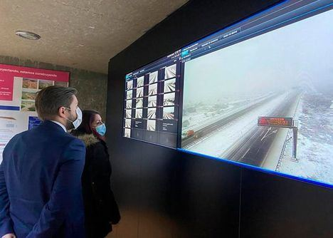 Dos terceras partes de la Red Regional de Carreteras se ven afectadas por el temporal 'Filomena'. La provincia más afectada ha sido Albacete