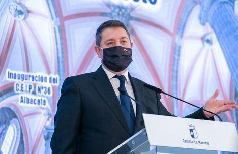 Page inaugura el colegio de Imaginalia y anuncia que su Gobierno aprobará el martes 420 millones de euros para mantener los conciertos educativos