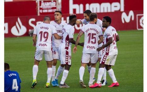 El Albacete Balompié está pendiente de la confirmación por parte de La Liga y la RFEF para jugar mañana domingo