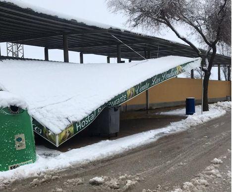 El nivel rojo de alerta por nieve en Castilla-La Mancha dará paso este domingo al nivel amarillo por bajas temperaturas