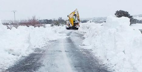 Temporal.- Filomena sepulta Castilla-La Mancha en su despedida con 482 incidentes y 6.000 km de vías afectadas como preludio del hielo
