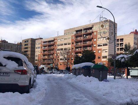 Temporal.- Castilla-La Mancha acumula 246 incidencias por hielo y nieve hasta las 16.00 horas de este lunes, y se alerta de temperaturas inferiores a los -14ºC