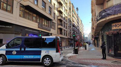 La Policía Local y Bomberos de Albacete acumulan cerca de 800 incidencias desde que se inició el temporal de nieve