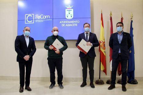El comercio local de Albacete contará con 150.000 euros del Ayuntamiento para la promoción de su actividad