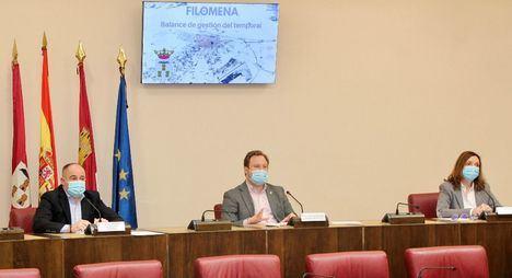 El Ayuntamiento de Albacete afronta unos costes extraordinarios de más de dos millones de euros tras el paso de 'Filomena'