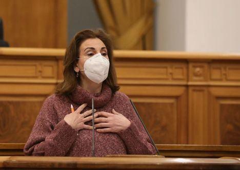 """Úrsula López (Ciudadanos): """"Expliquen a la población por qué han permitido que se multipliquen los casos de coronavirus en Castilla-La Mancha"""""""