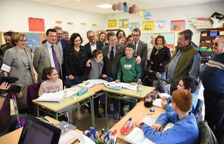 Foto: Emiliano García-Page. Presidente de Castilla-La Mancha. (Archivo)