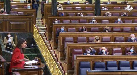 Cristina López defiende en el Congreso de los Diputados las ayudas a los sectores económicos más afectados, por parte de CCAA socialistas como Castilla-La Mancha