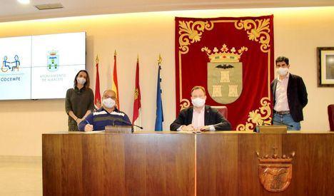El Ayuntamiento de Albacete se compromete con Cocemfe a eliminar