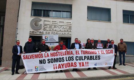 La Federación de Turismo y Hostelería de Guadalajara informa de cómo reclamar las pérdidas derivadas del COVID-19
