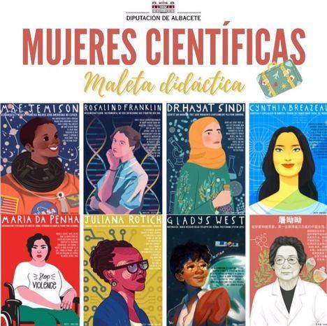 El programa 'Mujeres Científicas' de la Diputación de Albacete llegará ese curso a 8 centros educativos de la provincia