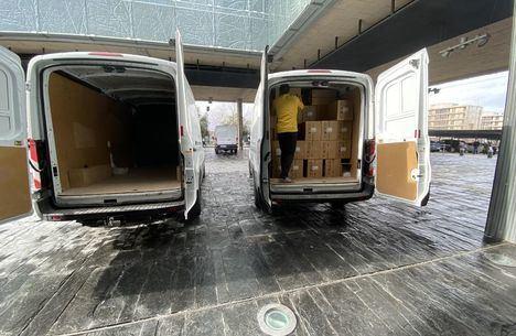 Coronavirus.- Más de 830.000 artículos de protección han llegado a los profesionales sanitarios de Castilla-La Mancha durante esta semana