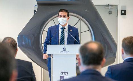 Santi Cabañero resalta el papel clave del Parque Aeronáutico y Logístico de Albacete en la reactivación económica y social de la provincia y del conjunto de la región