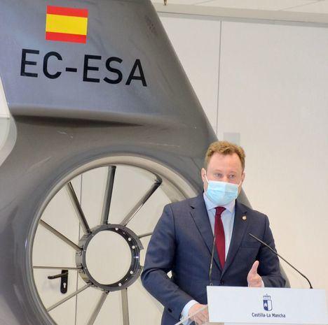 El alcalde, Vicente Casañ, destaca el fruto del trabajo conjunto que ha hecho posible que el HUB de Airbus Helicopters se instale en Albacete creando más de 350 empleos