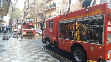El apoyo a policía y sanitarios y la prevención de los bomberos de Albacete duplican a los incendios y rescates