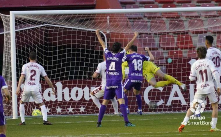 0-1.- Victoria del Real Sporting por la mínima en el estadio Carlos Belmonte de Albacete