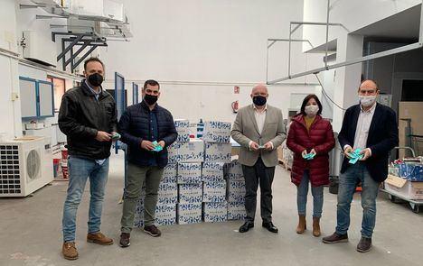 La asociación de empresarios de Hostelería de Albacete repartirá 50.000 geles hidroalcohólicos que recibe de la Junta