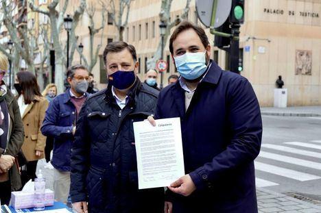 El PP Castilla-La Mancha alargará una semana su recogida de firmas en apoyo a las Fuerzas y Cuerpos de Seguridad del Estado