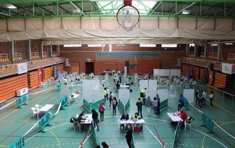 El Gobierno de Castilla-La Mancha inicia la vacunación frente al Covid-19 para los profesionales del ámbito educativo de la provincia de Albacete