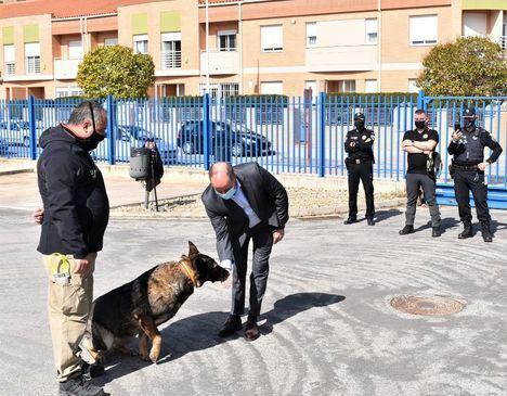 Una exhibición canina demuestra en Albacete las ventajas de crear una unidad cinelógica para mejorar seguridad ciudadana