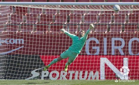 2-1. El Albacete ha sido mejor durante todo el partido, pero el Girona no perdona con dos goles en el tiempo de descuento