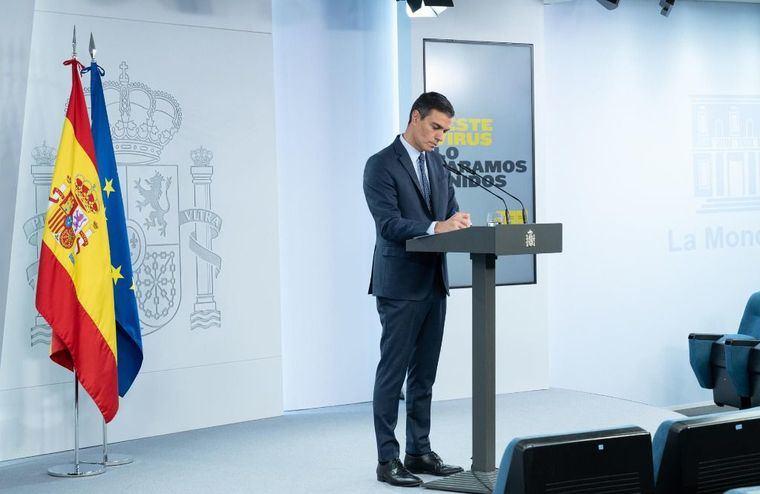 Pedro Sánchez quiere que el 9 de mayo sea el punto y final de estado de alarma y que luego decida el Consejo Interterritorial