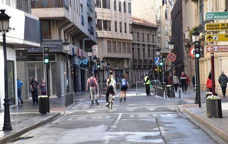 La Mesa de Movilidad de Albacete conoce la propuesta para reordenar el tráfico del proyecto de peatonalización del centro