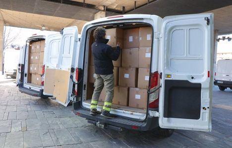 Coronavirus.- Distribuidos más de medio millón de artículos de protección para sanitarios de Castilla-La Mancha en los últimos quince días