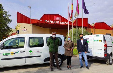 El Consorcio Provincial de Medio Ambiente de Albacete incorpora dos nuevos vehículos eléctricos al Programa de Recogida Selectiva de Envases