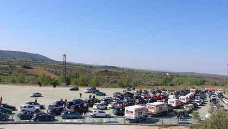 Más de medio millar de vehículos de empresarios de la provincia de Guadalajara protestan ante su situación 'crítica'