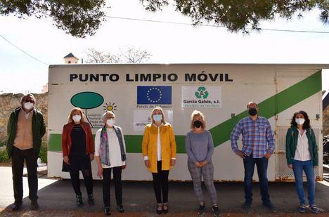 Tobarra se incorpora al Programa de Puntos Limpios Móviles de la Diputación de Albacete para dar servicio a sus pedanías