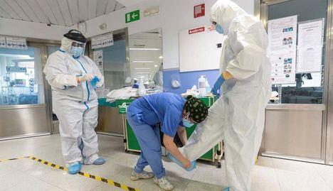 Coronavirus.- Se estabilizan los casos de hospitalizados por COVID-19 en Castilla-La Mancha