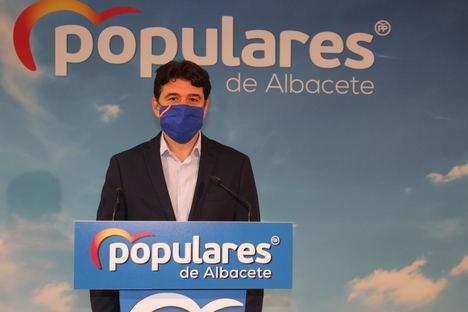 Francisco Navarro señala que Page vuelve a repetir por enésima vez la reforma del Hospital General de Albacete en un nuevo ejercicio de autobombo