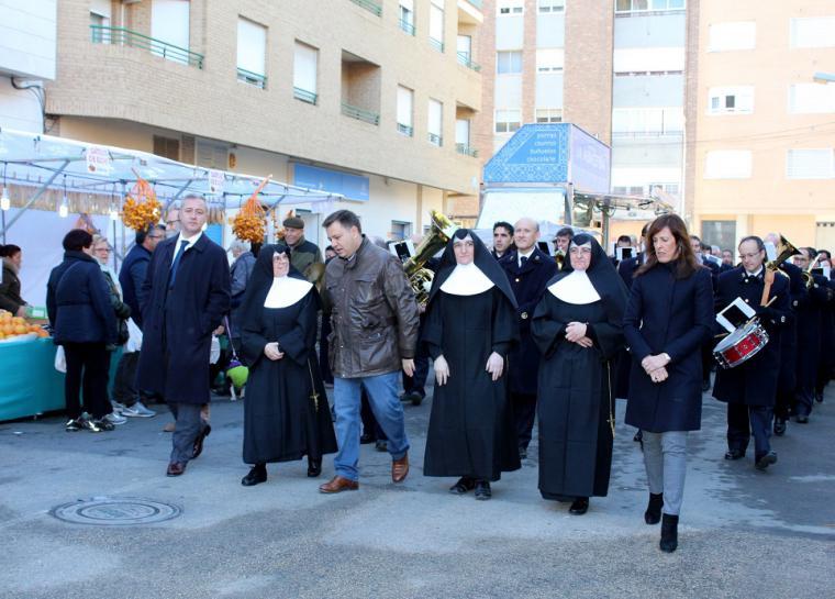 Se celebra San Antón en Albacete con una misa, procesión y bendición de animales