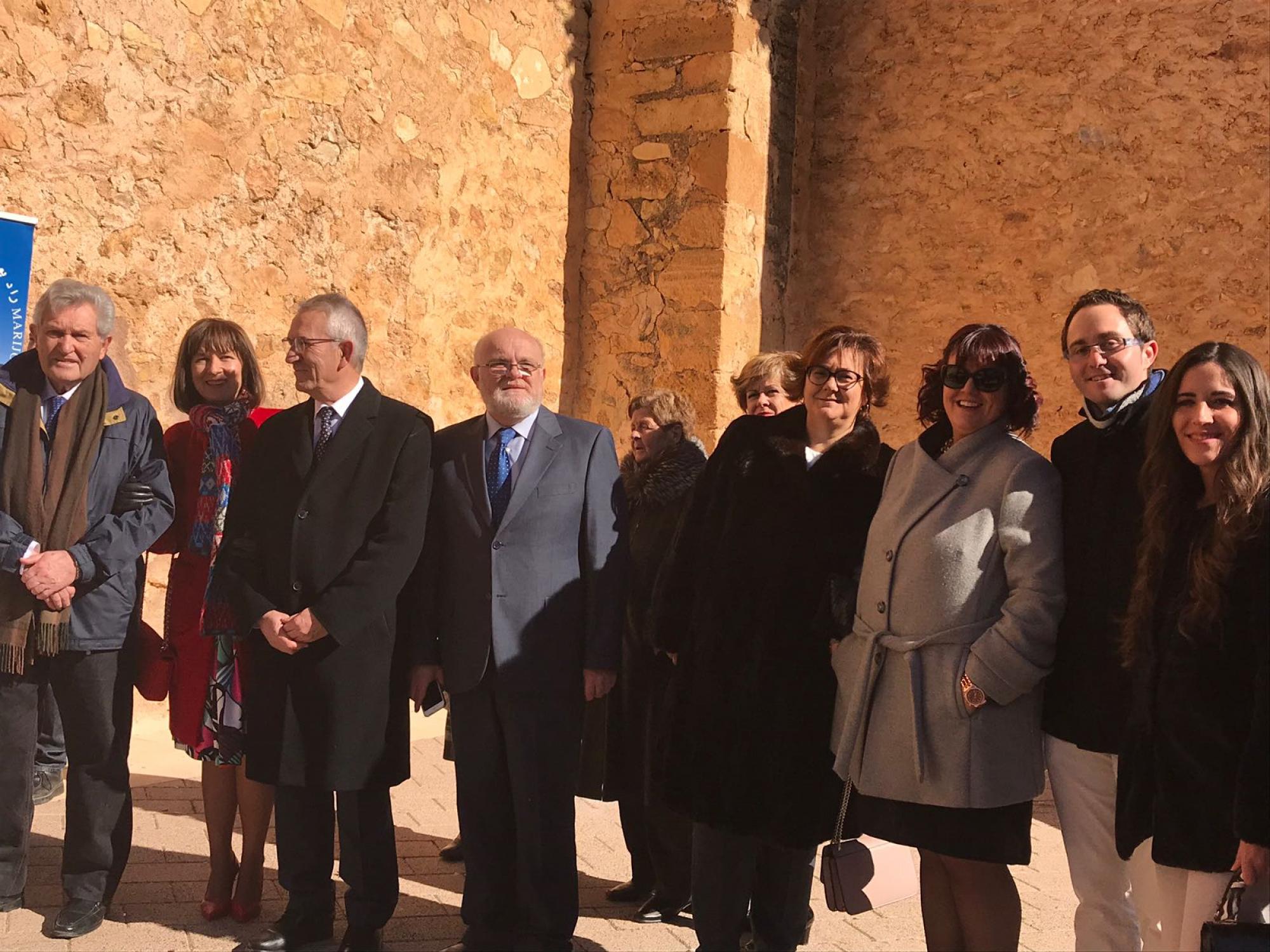 El delegado de la Junta en Albacete, Pedro Antonio Ruiz Santos presente en la Festividad de San Blas de Balazote