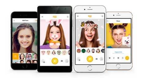 La app utiliza máscaras, efectos especiales 3D y filtros animados, que permiten crear un look personalizado.