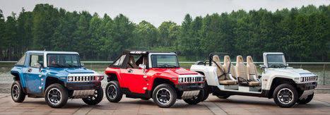 Completa gama de vehículos 100% eléctricos con modelos tan personales como un Hummer descapotable.