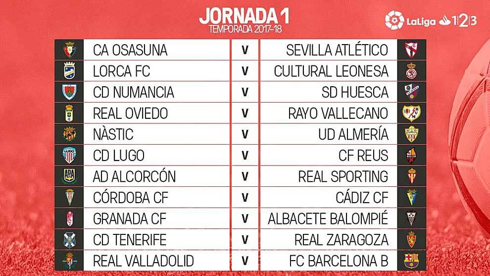 Albacete Balompie Calendario.Calendario El Albacete Balompie Jugara La Primera Jornada