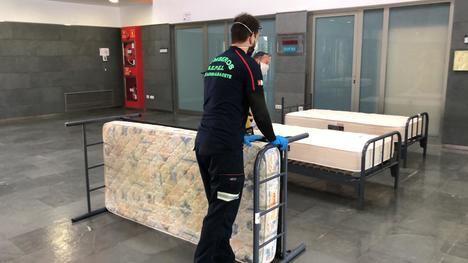 El SEPEI de la Diputación cede más de un centenar de camas para ampliar en la Facultad de Medicina la atención del Hospital de Albacete