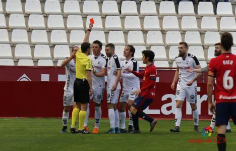 0-0. La injusta expulsión de Saveljich marcó el desarrollo del Albacete-Osasuna